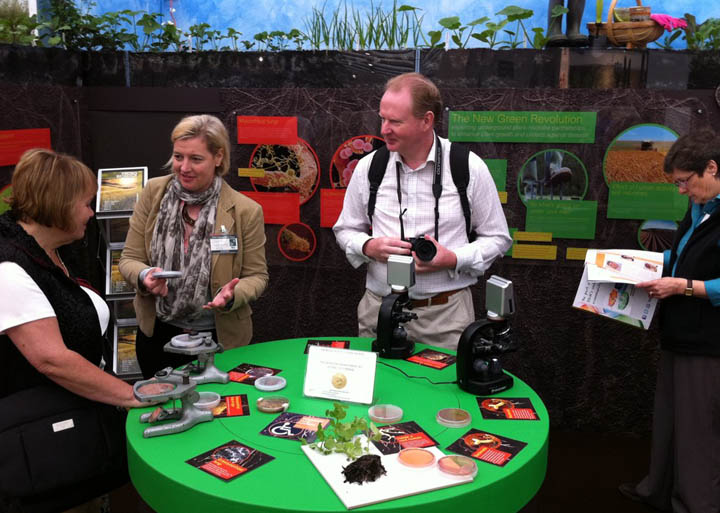 Chelsea Flower Show microbiology stand.jpg