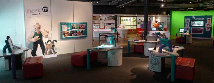 Exhibition Booth Animation : W interactive exhibit and exhibition design home