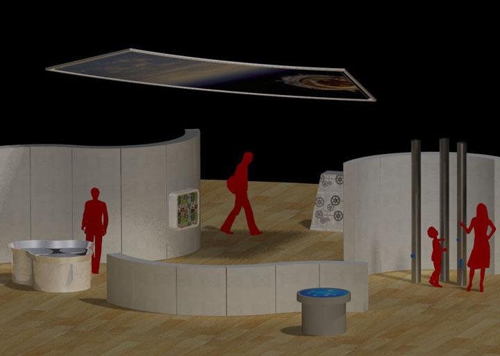 D Rendering Exhibition : Visualisations w design