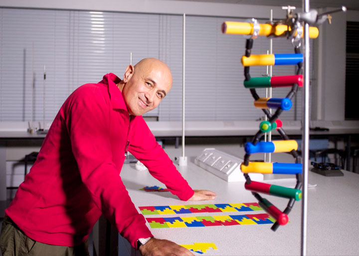 "The DNA Builder model found its way onto BBC4 in Jim Al-Khalili's series ""The Secrets of Quantum Physics"""